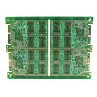 Cheap Rigid Multilayer PCB , High Density 8 Layer Immersion Gold PCB Automatic Control Circuit Design for sale