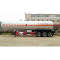 Buy cheap Low price 60m3 tri axle propane tanker trailer from wholesalers
