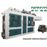 Cheap Automatic Biodegradable Bagasse Pulp Molding Equipment / Plate Making Machine for sale