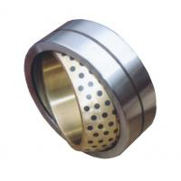 Cheap Self-lubrication spherical plain bearing for bronze inner ring for sale