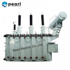 Cheap 110kV 80MVA Power Transformer With  Oil Tank / Power Step Down Transformer for sale