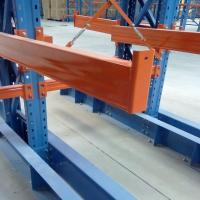 Quality Warehouse High Capacity Cantilever Material Racks For Heavy Pipe / Lumber wholesale