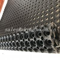 Cheap Residential  Interlocking Perforated Kitchen Floor Rubber Mats Anti Skid Shock Proof for sale