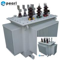 Cheap 6.6 KV - 1600 KVA Oil Immersed Transformer Three Phase Power Transformer for sale