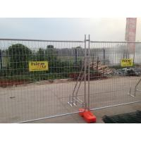Cheap Cheapest economic Temporary Fencing panels 2100mm x 2400mm mesh 60mm x 150mm x 3.0mm diameter for sale