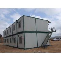 Low Cost Prefabricated Sandwich Panel Steel Container House