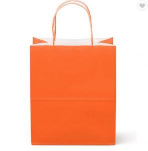 Cheap FSC CMYK Color 160gsm Eco Friendly Paper Bag for sale