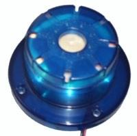 good quality ABS siren with strobe light