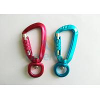 Cheap Aviation Aluminum Hot Green / Red Snap Hook Carabiner Locks Super Quality Light Weight for sale
