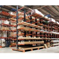 Cheap Double Side Steel Cantilever Lumber Racks Wide Used in Long Material Storage for sale