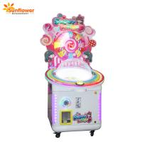Cheap Sunflower Coin Operated Game Machine Candy Lollipops Vending Machines for Sale for sale