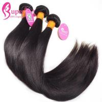 Cheap Authentic Virgin Remy Hair Straight Long Brazilian Hair Extensions 6A To 8A Grade for sale