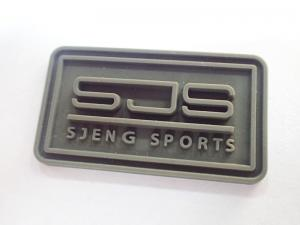Cheap Garment Accessories Embossed Clothing Custom Rubber Logo Label PVC Patch for sale