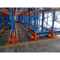 Cheap Powder Coating Surface Radio Shuttle Racking System Semi Automatic Storage for sale