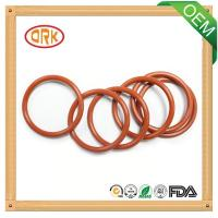 Red standard / nonstandard NBR O Ring Water Resistance For Pump Seal Manufactures