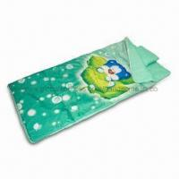 China Kids Sleeping Bag, Made of 190T Printed Polyester, Measures 70 x 140cm on sale