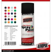 Cheap Widely Application Supper Fast-Dry Car Aerosol 400ML Colorful Spray Paint for sale