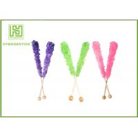 Custom Decorative Cake Pop Sticks , Wood Round Sticks For Cotton Candy