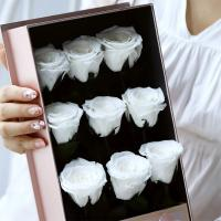 Cheap Selling China long life rose guns flower box gift  Preserved Flowers Christmas gift for sale