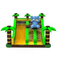 Quality Large New Inflatable Slide Inflatable Elephant Slide With Climbing Handle Water wholesale