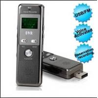 Cheap USB Retractable Sound Activation Voice Recorder With Password Setting Function 4GB for sale