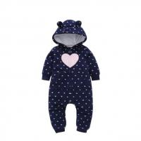 China New Arrival Winter Cool Baby Clothes Floral cotton infant rompers on sale
