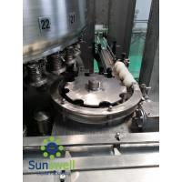 Cheap Automatic Carbonated Beverage Aluminum Can Filling Machine With Large Flow Rate for sale
