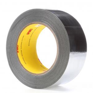 Cheap 3M 363 / 3M 363L Glass Cloth Tape High Temperature Tape , Aluminum Foil Tape 0.19MM Silicone Transparent Adhesive for sale