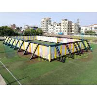 Buy cheap Giant Inflatable Sports Arena 0.4mm PVC Tarpaulin Commercial Inflatable from wholesalers