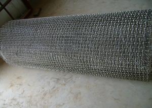 Cheap Selvedge Sus304 0.71mm 22 swg Crimped Wire Mesh for sale