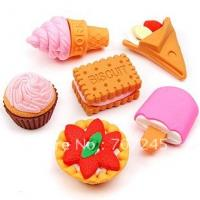Cheap finger erasers at factory price& 3D shapes& fancy design for sale