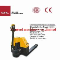 Buy cheap 1.5T Electric Powered Pallet Truck CBD15-170 / CBD15-610 With CURTIS1243 from wholesalers