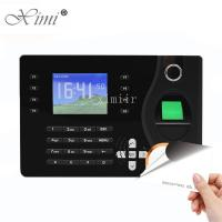 Cheap TCP / IP Communication Biometric Time Attendance Machine RFID Card Reader for sale
