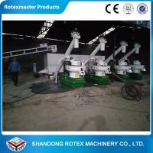 Buy cheap Large Capacity Biomass Pellet Making Machine , Wood Pellet Processing Equipment from wholesalers