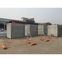 Cheap Hot Dipped Galvanized Temporary Fence Panels 84 microns zinc layer 600gram/SQM for sale