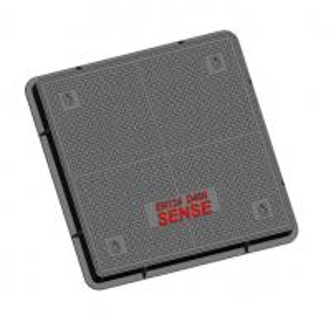 Cheap Internal Manhole Covers Ductile Iron EN GJS500-7 Solid Double Seal D400 Parking Areas for sale