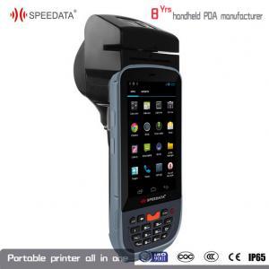 China 3G Sim Portable Laser Printer Thermal PDA Data Collection USB Interface on sale
