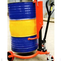 Cheap Manual Hydraulic Oil Drum Porter Lifter Lift Truck hydraulic hand pallet truck manual pallet jack for sale