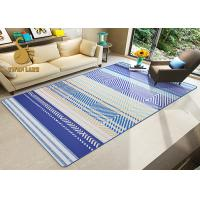 Elegant Commercial Indoor Area Rugs With Tassels / Living Room Carpet