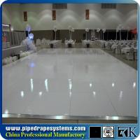 Cheap black and white polished plywood dance floor dance floor for wedding for sale