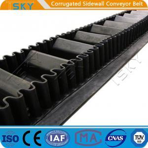 Cheap B1000 Corrugated Sidewall Rubber Conveyor Belt for sale