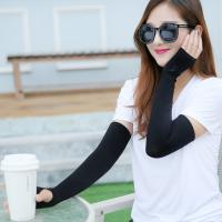 China Nylon Unisex Sports Cooling Sun Protection Sleeves Antibacterial OEM Service on sale
