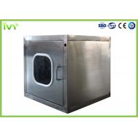 Cheap 220V / 50Hz Rated Pass Through Box Preventing Secondary Pollution For Clean Room for sale