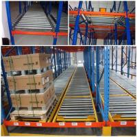 Cheap Custom Size Warehouse Pallet Live Racking Multi Function Powder Coating Finish for sale