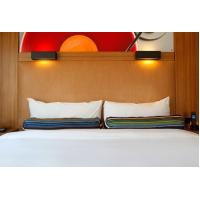 Quality HPL Laminate plywood hotel furniture liquidators Guest rooms Wood Headboards wholesale