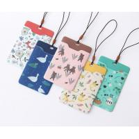 China Promotional Gifts Lanyard ID Card Holder Bus Card Cover Lovely Carton Theme on sale