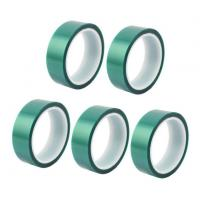 Cheap 3M 8992 High Temperature Tape Green PET Silicone Tape For Powder Coating for sale