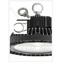 Quality UFO High Bay LED Lights Die Casting Pure Aluminum Shell Type With Safety Rope Component wholesale