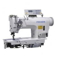 Cheap Computer-controlled Direct Drive Fixed Needle Bar Double Needle Lockstitch Sewing Machine for sale