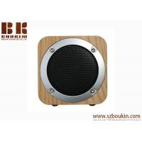 Buy cheap Fashion Festival Gift Magnetic Horn Shock Bass Portable Wireless Wooden from wholesalers